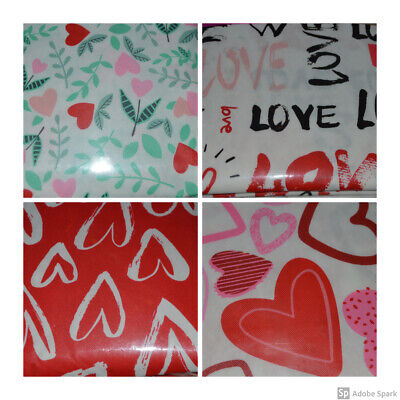 NEW Valentines Day Spring Easter Vinyl Tablecloth~Flannel Backing~YOU PICK - Valentines Tablecloth