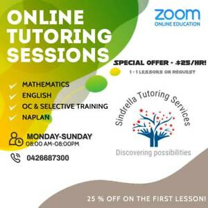 Tutoring at your Home! - $25/hr (Year 2 - 12)