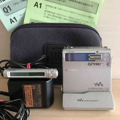 Sony MZ-N1 MD Walkman MiniDisc Player Silver G-Protection Type R Used(J)