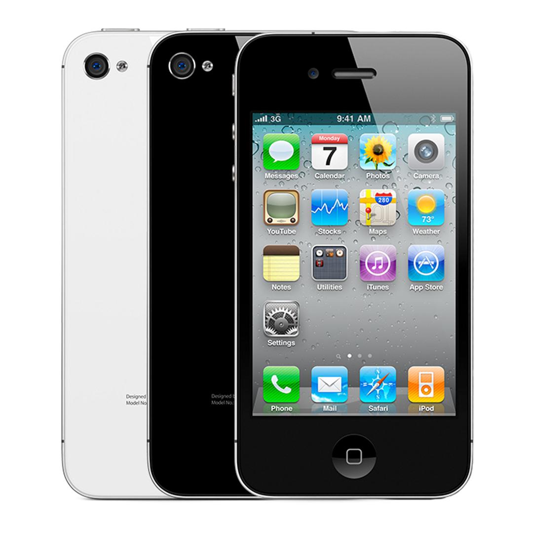 Apple iPhone 4S 16GB - Verizon GSM Unlocked Smartphone - Black & White