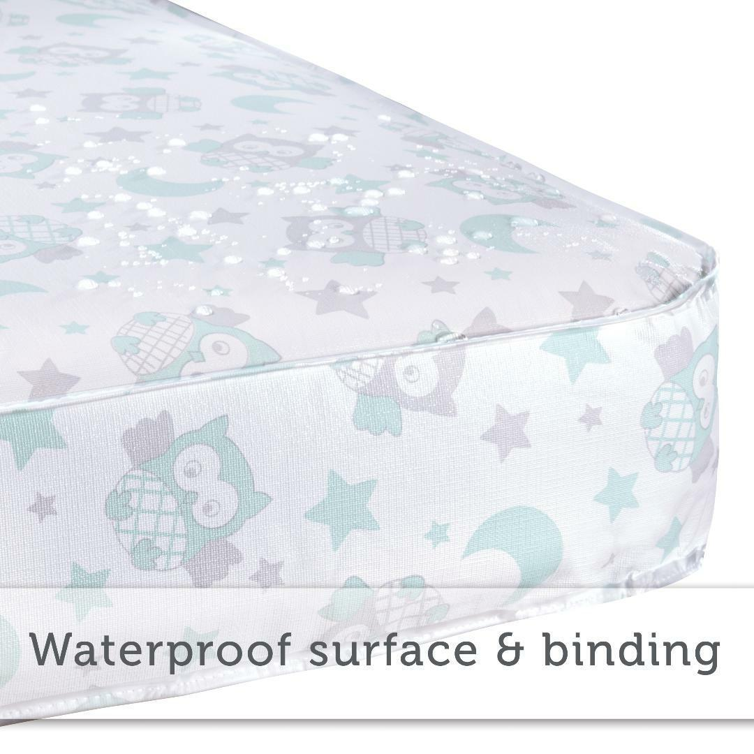 BABY CRIB MATTRESS Deluxe Toddler 800 Innerspring Pediatric