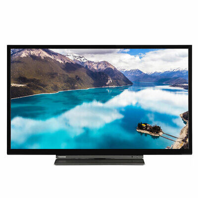 "Toshiba 24WL3A63DB 24"" Smart HD Ready LED TV Freeview Play Alexa C Grade"