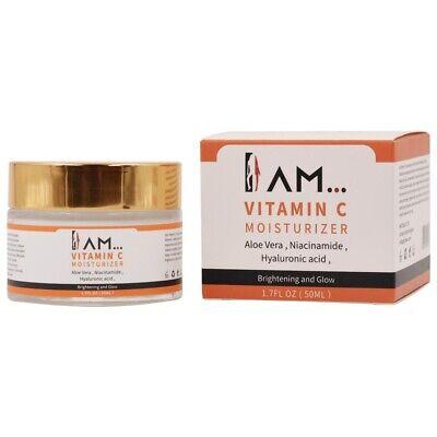 Vitamin C Cream Serum With Hyaluronic Acid & Aloe Vera Anti-Aging, Anti-Wrinkle