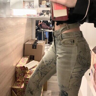 just cavalli jeans W26/27 Double Waisted