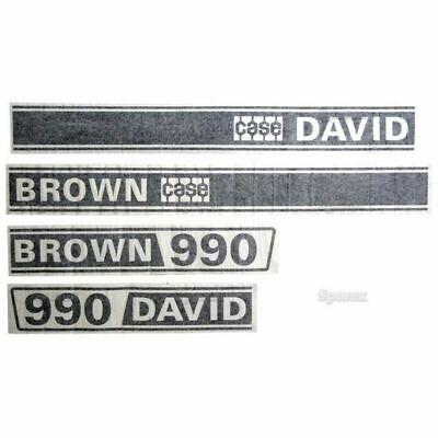 David Brown 990 Selectamatic Hood Decal K949207