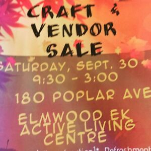 Craft and Vendor Sale