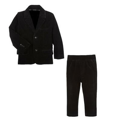 G-Cutee Boys' Velvet Dress Suit Pants and Blazer, 2-Piece - Boys Velvet Suit