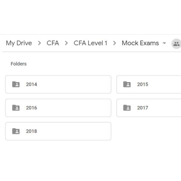 2019 CFA Kaplan Schweser Level I/