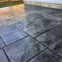 Stamped Concrete! (Insured and Professional)