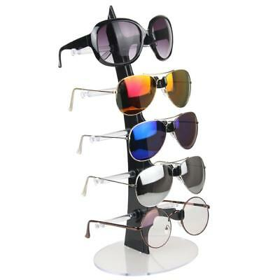 5 Pairs Sunglasses Eyeglasses Display Stand Organizer Holder Show Rack (Organize Sunglasses)