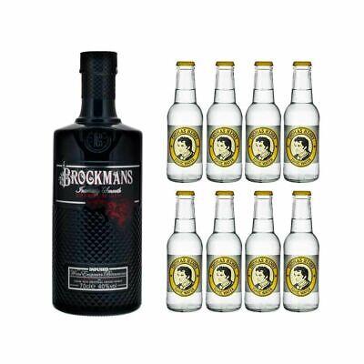 Brockmans Intensely Smooth Premium Gin + 8 Botellas Henry Tónico 40% Vol...