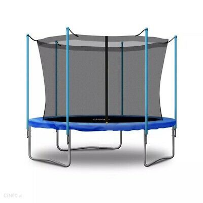 Trampoline 8FT Premium 244cm + Internal Safety Net Spring Cover Pad Tool HEAVY