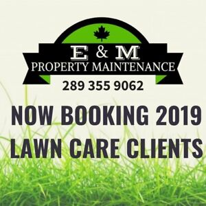 Spring Clean Ups & Lawn Care Bookings