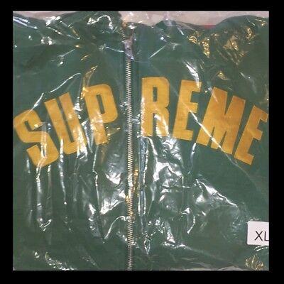 Supreme Jet Sleeve Hooded Sweatshirt Full-Zip XL SS18 New & Authentic Logo FW19