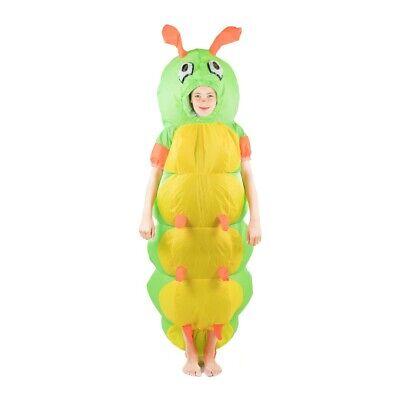 ares Raupen Kostüm für Kinder Hungrig Käfer Tausendfüßler (Kinder Kostüm Raupe)