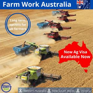 New Australian Agricultural Visa for UK farmers