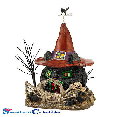 Department 56 Halloween Village 4044877  Black Cat Shack