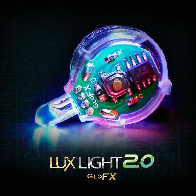 GloFX Lux Light 2.0 – LED Microlight Infinite Colors LED Rave Light For Gloving - Gloving Lights