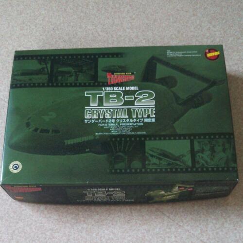 IMAI THUNDERBIRDS TB-2 1/350 Scale Model Kit Crystal Type Limited Edition