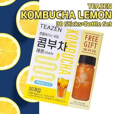 TEAZEN Kombucha Lemon Powder Stick 5g X 30T with Bottle Gift Made Korea BTS JK