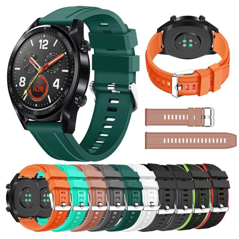 22mm For Huawei Watch GT 2e 2 46mm 2 Pro Honor Magic Silicon