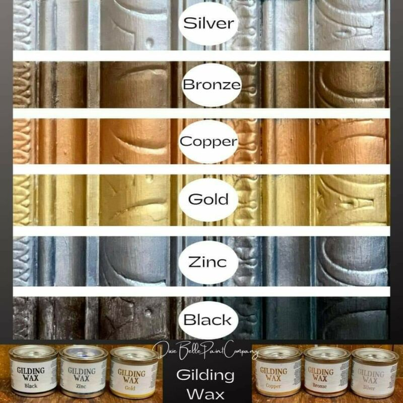 Dixie Belle Gilding Wax, all colors, free shipping on orders > $35