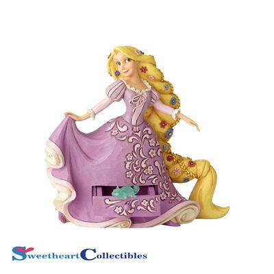Jim Shore Disney 6000964 Rapunzel With Pascal Charm 2018