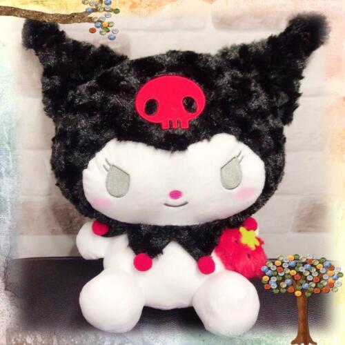 NEW SANRIO MY MELODY KUROMI Stuffed Plush animal Doll Toy JAPAN Kuromi