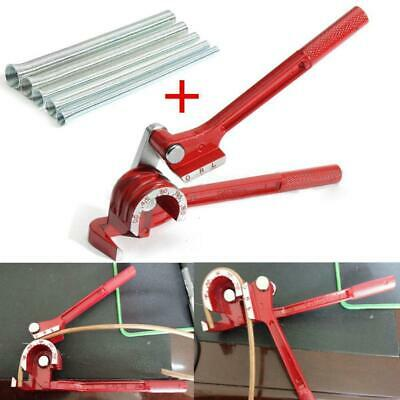 Manual Copper Pipe Bender 14 58 Spring Bending Tube Pipes Tubes Tools