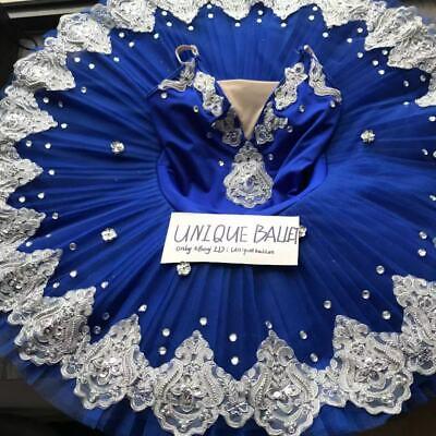 Ballerina Adult Costume (Adult Classic Ballet Tutu Costume Royal Blue Kids Ballerina Dance Platter)