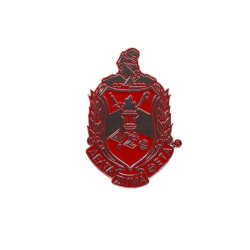 Delta Sigma Theta Sorority Die-Cut Car Badge-New!