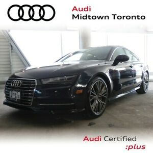 2018 Audi A7 Sportback 3.0T Technik quattro w/ Bose|Side Assist|