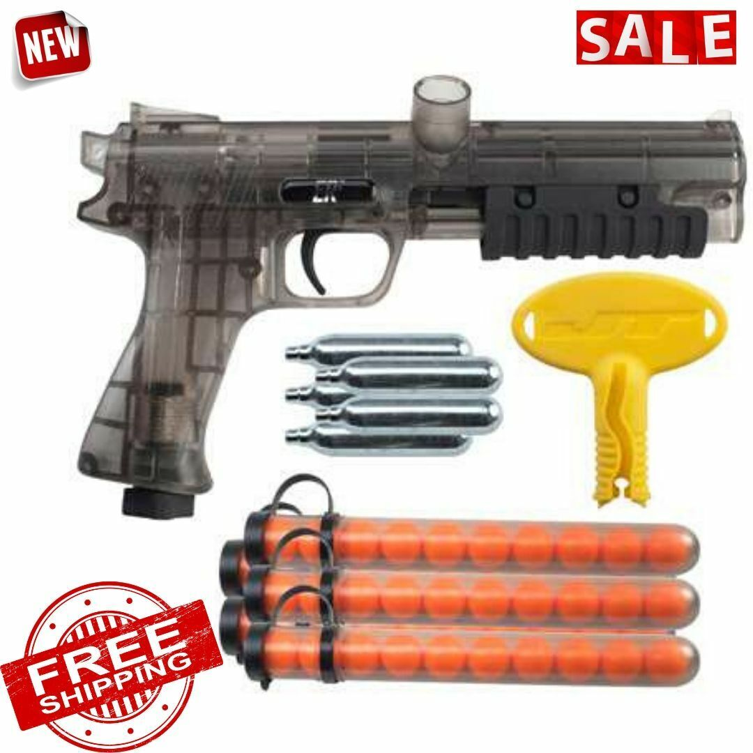 JT ER2 Pump Paintball Pistol Kit - Smoke