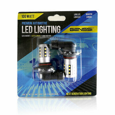 2 Bulbs LED Headlight 9005 HB3 9145 6000K High Beam or Fog DRL Bulbs White