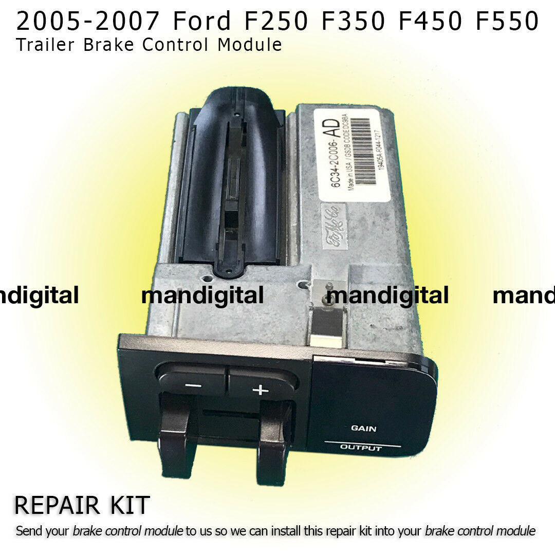 Ford Trailer Brake gain control Module 05 -07 5c34-2c006-AJ Repair service only