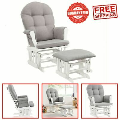 Windsor Glider Durable Baby Nursery Rocking Furniture Chair Glider Ottoman New