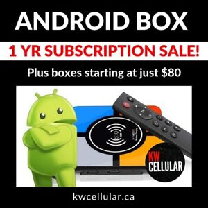 SALE! Android Box - 1000s of HD & 4K Channels!
