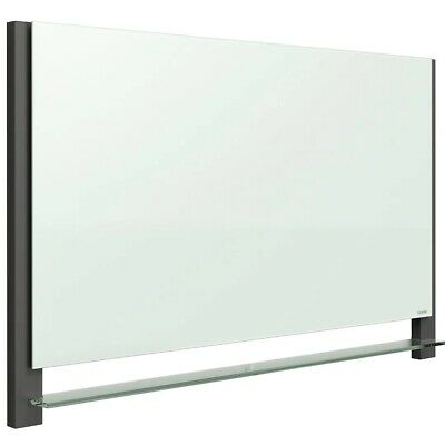 Quartet Evoque Magnetic Glass Dry-erase Board 39w X 22h Aluminum Frame G3922ba