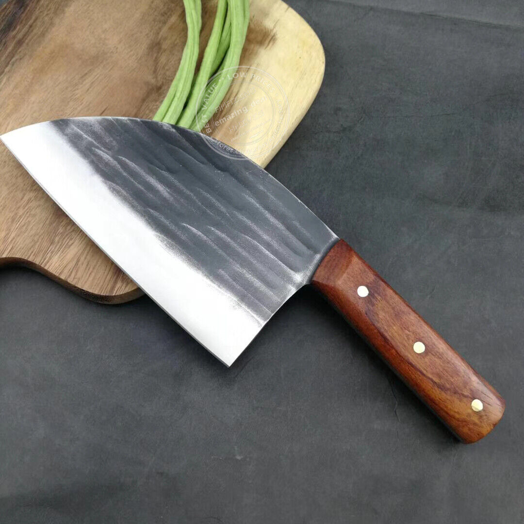 Handmade Forged Kitchen Meat Vegetable Chopping Chef Knife C