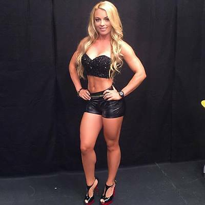 - WWE DIVA SUPERSTAR MANDY ROSE 8X10 PHOTO W/ BORDERS