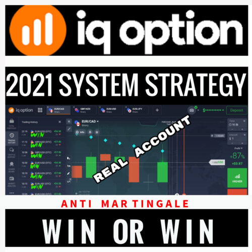 Binary or Digital Options - IQ- Complete System Strategy 2021 - WIN or WIN