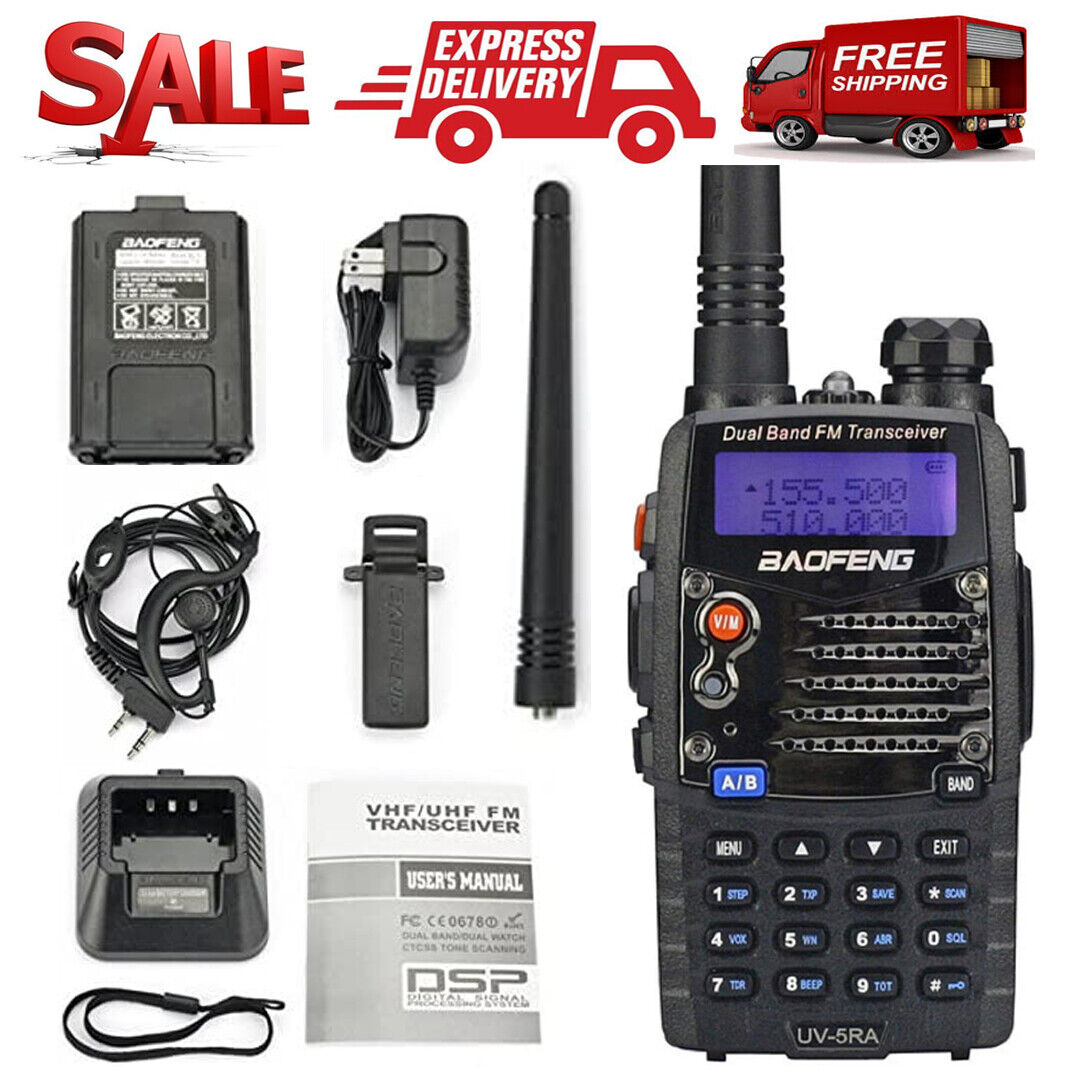 Digital Handheld Radio Scanner Two Way Police Ham Transceive