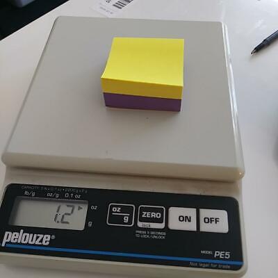 Pelouze Pe5 Digital Scale 5lb 2200g Capacity Free Shipping