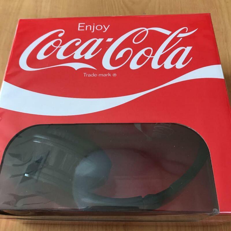 Coca Cola headphones red Limited