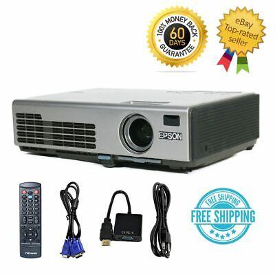 Epson EMP-750 PowerLite 750C 3LCD XGA Projector Portable HD 1080i HDMI-adapter