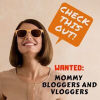 WANTED: Mommy Bloggers/Vloggers