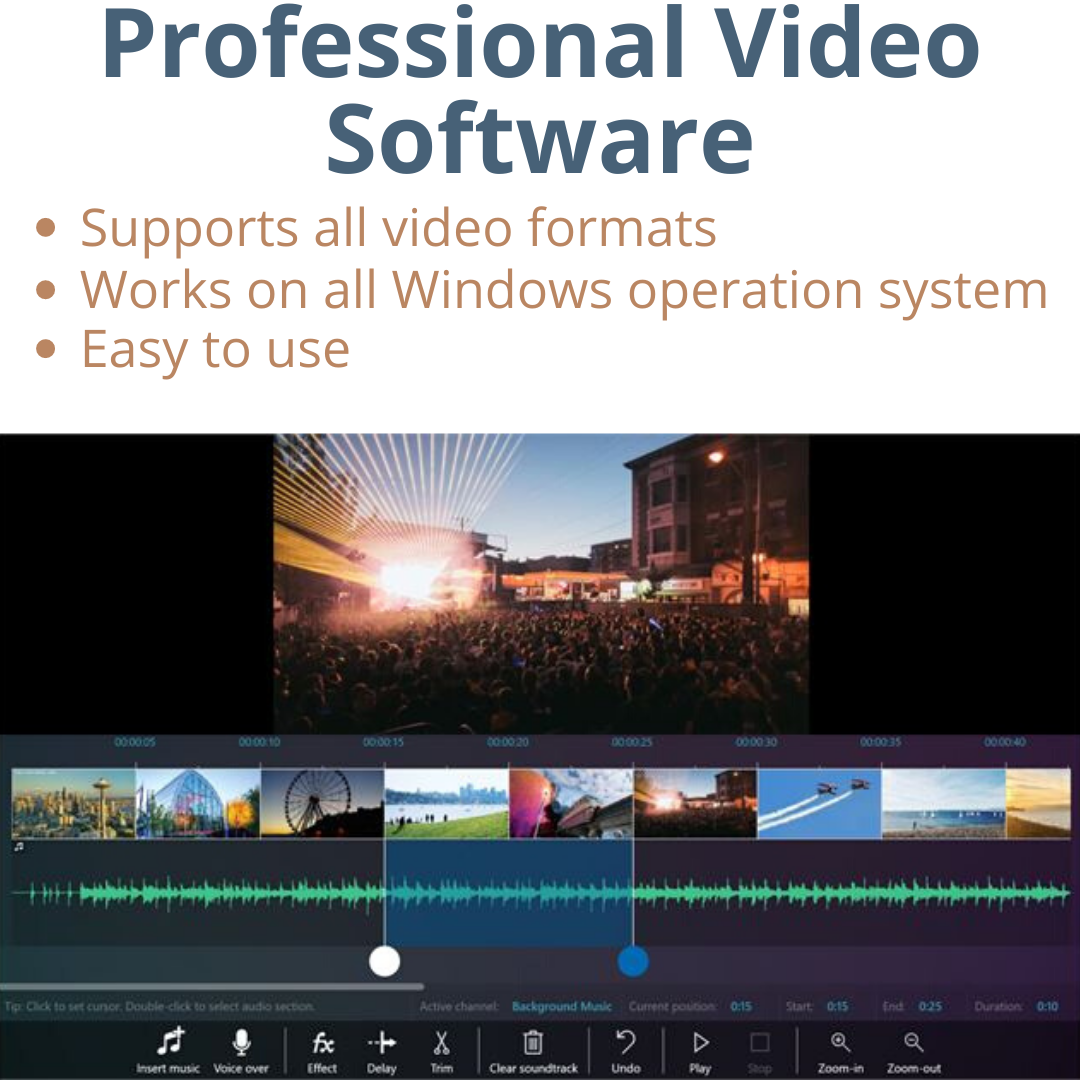 PROFESSIONAL HD 4K VIDEO EDITING PC  SOFTWARE OpenShot 2020 Edit Effects