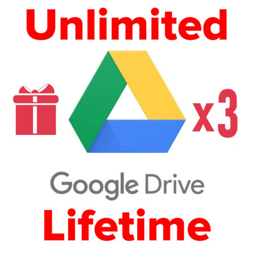 Unlimited Google Drive for your existing account - [Team Drive] Buy 1 get 3 FREE