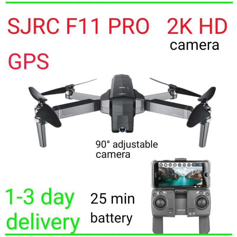 SJRC F11 PRO GPS fpv 5G WiFi RC Drone quadcopter hd 2.7K Camera brushless