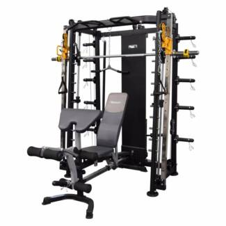 Functional trainer smith machine squat rack cable crossover NEW